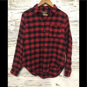 Abercrombie & Fitch buffalo plaid button shirt